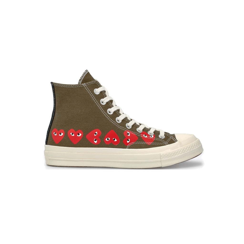 x COMME DES GARCONS PLAY ALL STAR 70s hi youth