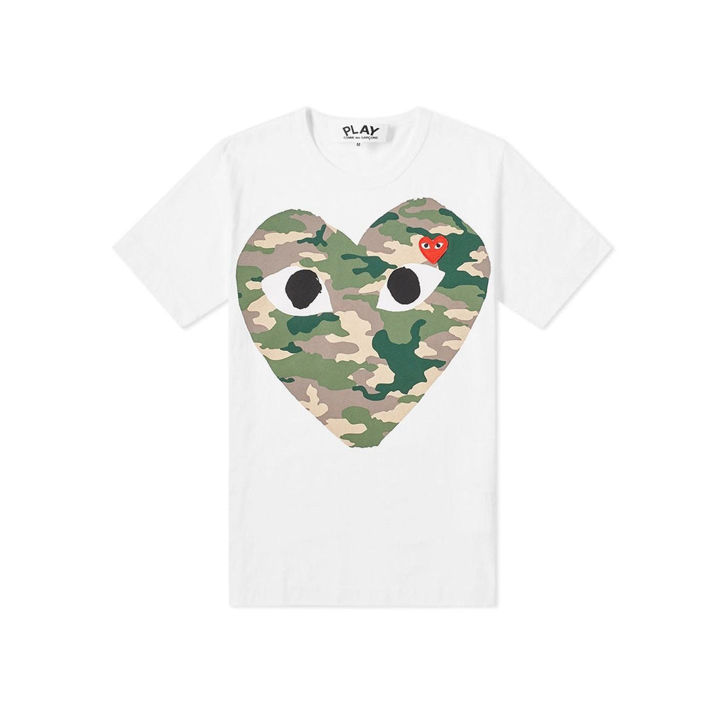 Comme des Garcons PLAY Double HEART T-Shirt Youth T-Shirt - WHAT A PETIT