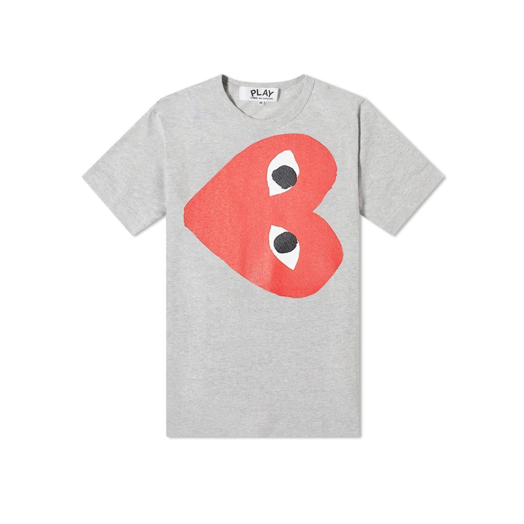 Comme des Garcons PLAY PLAY ROTATE HEART T-Shirt Youth T-Shirt - WHAT A PETIT