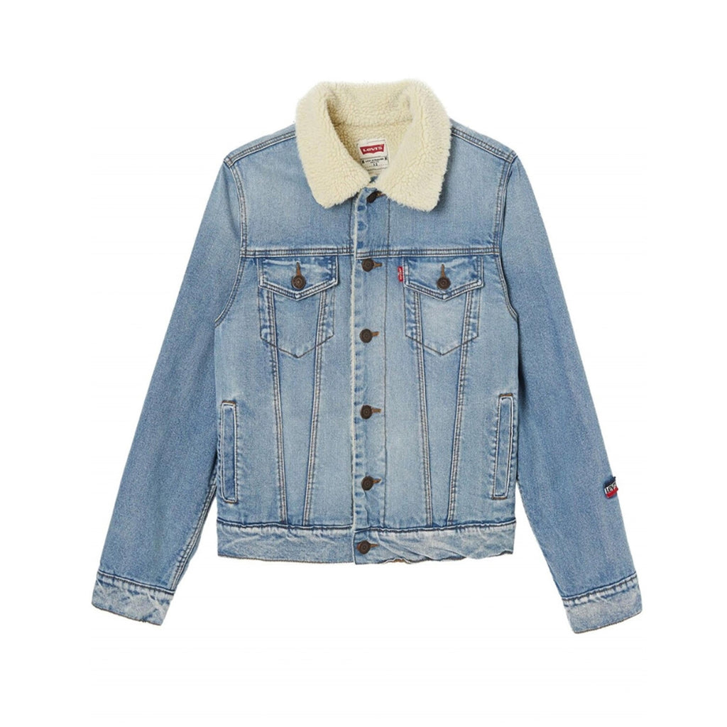 LEVIS SHERPA TRUCKER JACKET KIDS Jacket - WHAT A PETIT