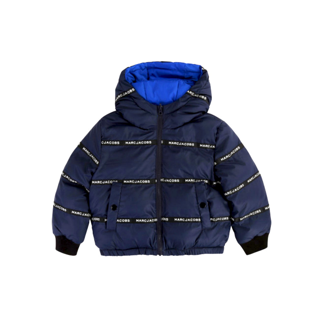 Little Marc Jacobs REVERSIBLE DOWN JACKET Kids Jacket - WHAT A PETIT
