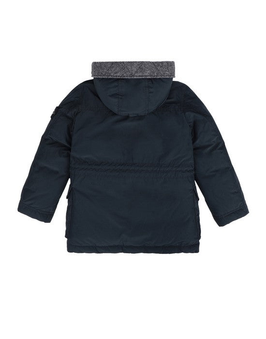 Stone Island Junior Micro reps Down Jacket KIDS Jacket - WHAT A PETIT