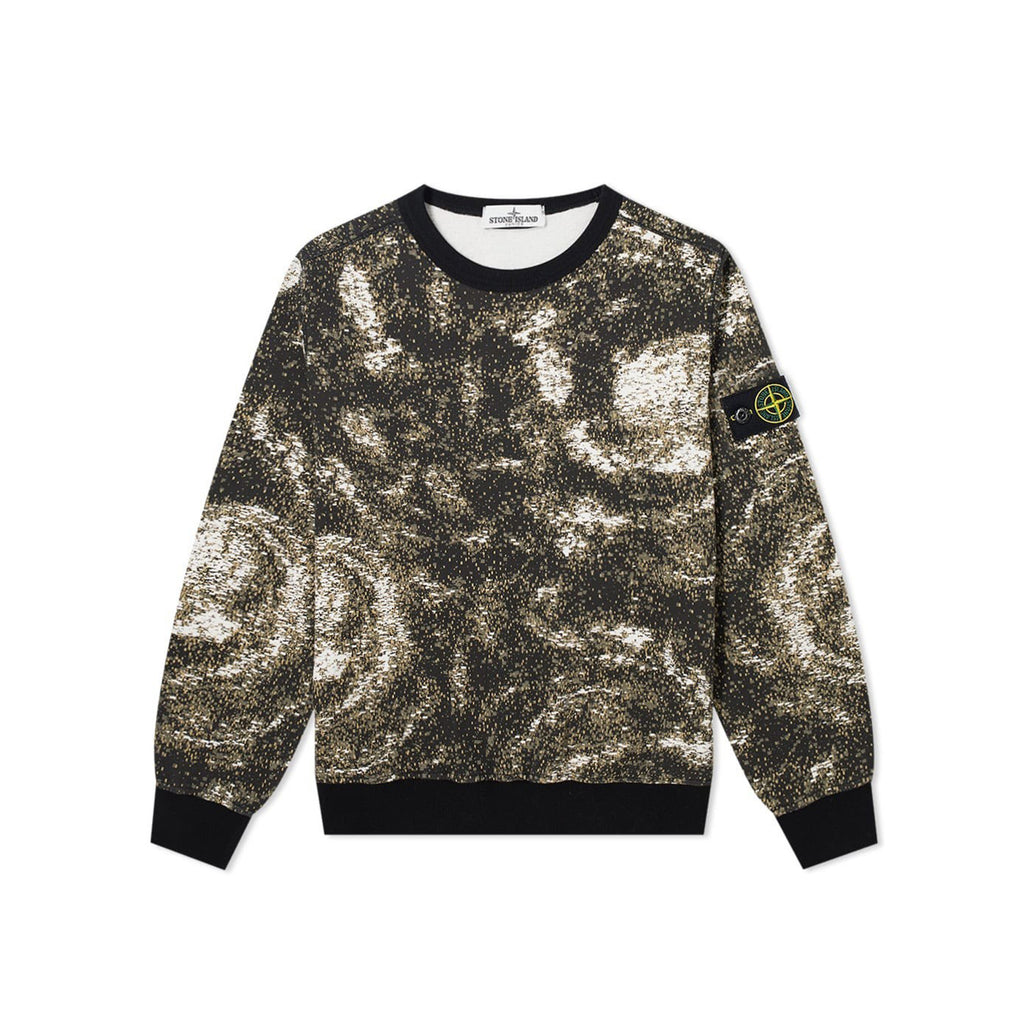 Stone Island Junior Digital Print CREWNECK KIDS Crewneck - WHAT A PETIT