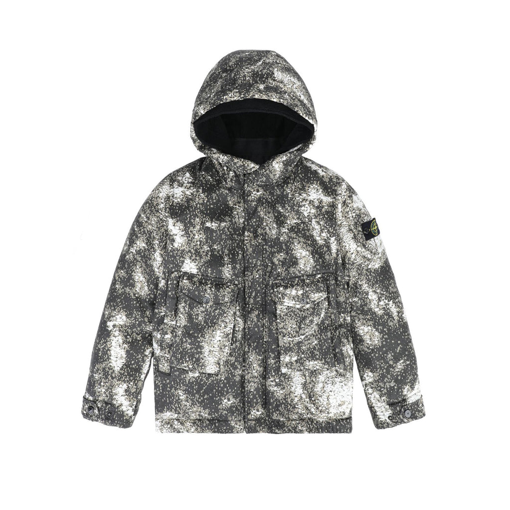 Stone Island Junior LINO RESINATO WATRO Jacket Kids Jacket - WHAT A PETIT