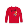 x The Simpsons El Barto Longsleeve Kids