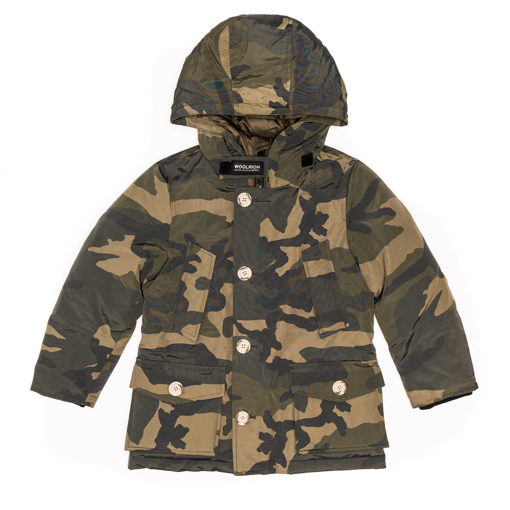 Woolrich Arctic PARKA nf camouflage Kids Parka - WHAT A PETIT