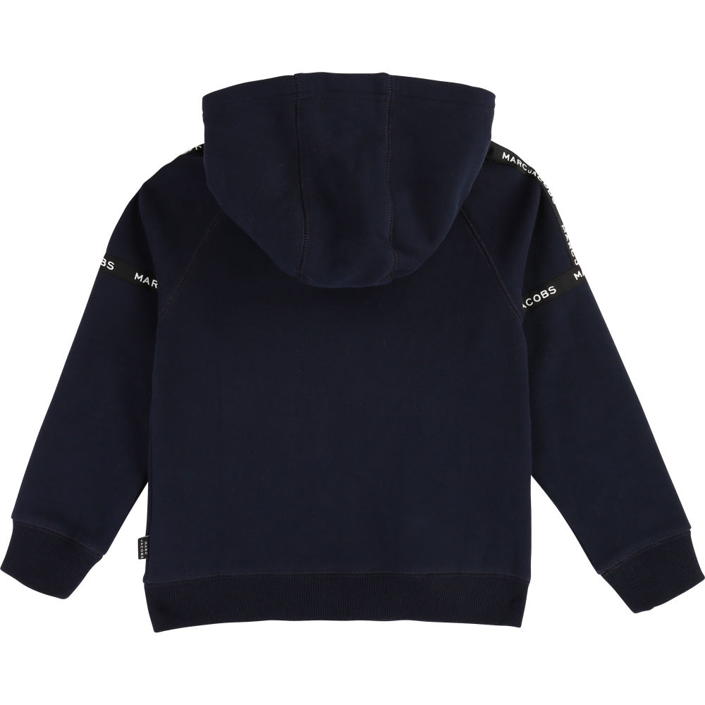 Little Marc Jacobs Tracksuit Jacket Kids - Navy Hoody - WHAT A PETIT