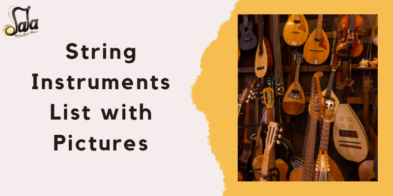 String Instruments List with Pictures