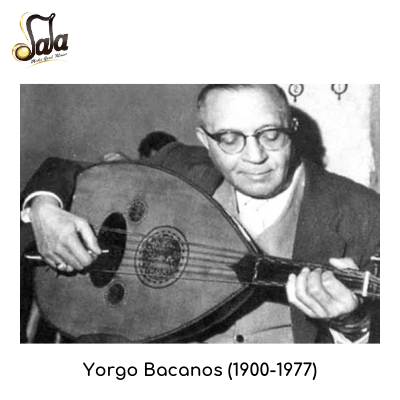 Turkish oud players-Yorgo Bacanos