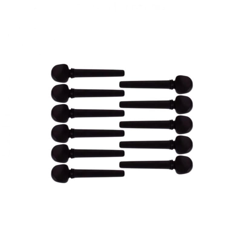11 PCS Professional Ebony Peg For Oud EOB-111 - Sala Muzik