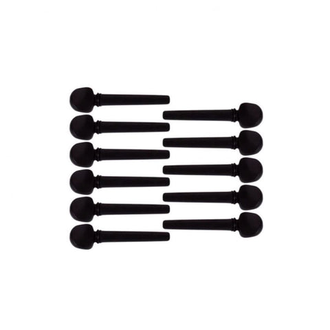 11 PCS Professional Ebony Peg for Oud EOB-111-ウード