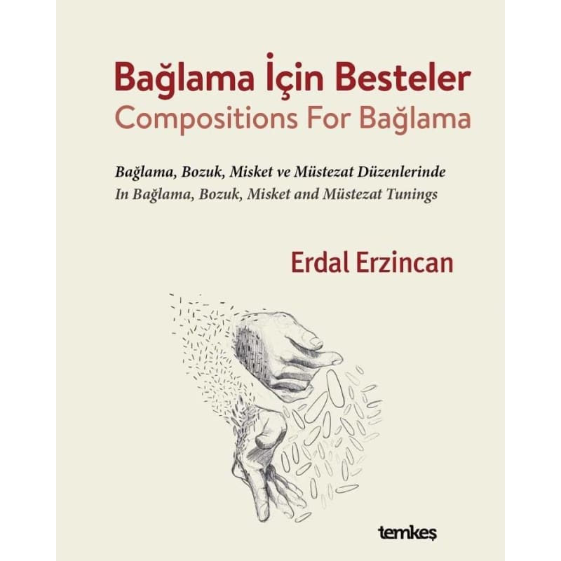 Compositions For Baglama By Erdal Erzincan TEE-404 - Sazs