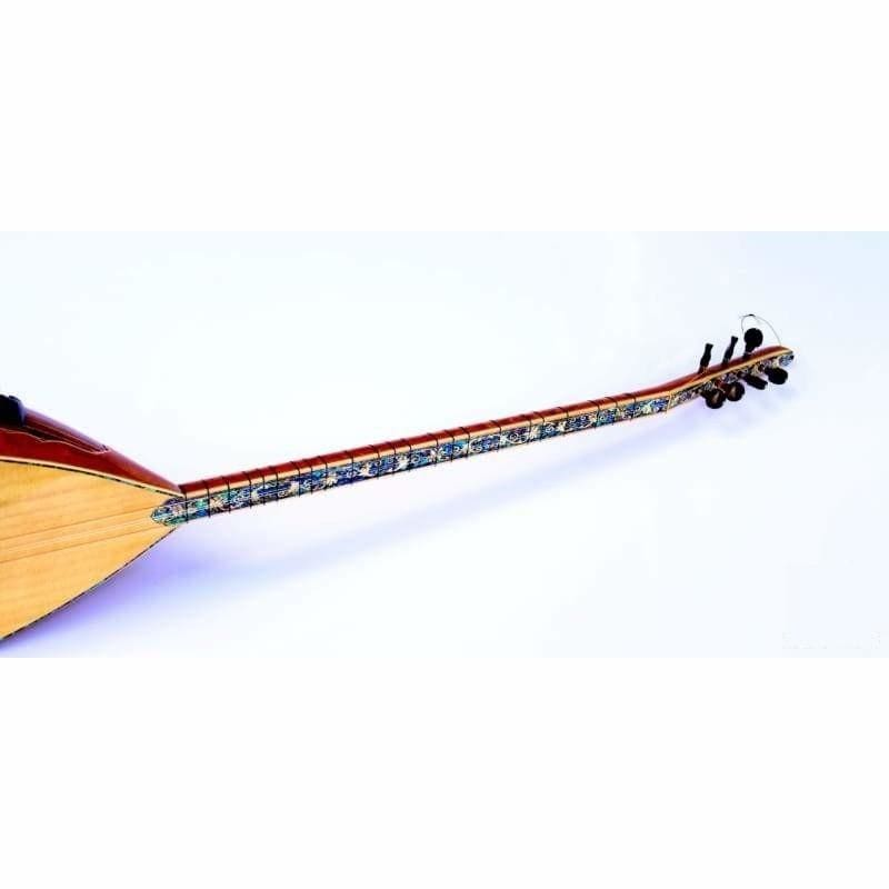 Concert Quality Long Neck Baglama Saz SSL-506EQ - Sazs