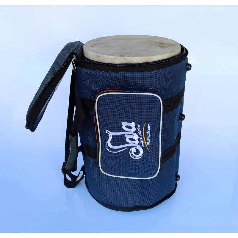 darbuka drum blue case for sale