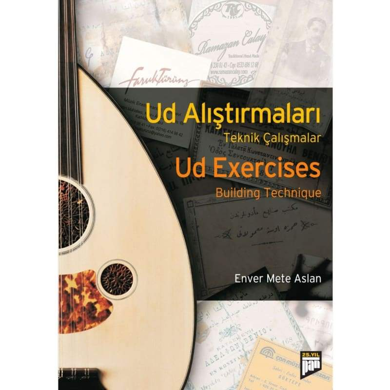 Oud Exercises Building Technique In English And Turkish Practice POE-201 - Ouds