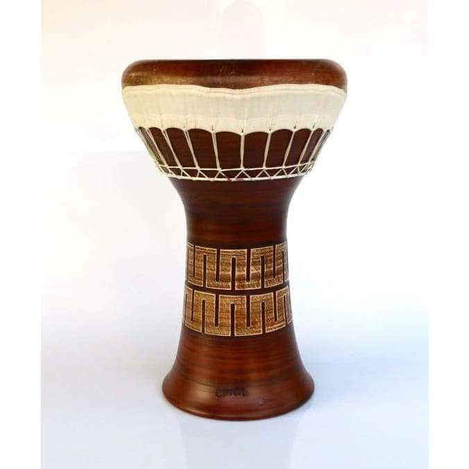 Professional Clay Ceramic Solo Darbuka By Emin Percussion EP-104-A - Darbukas