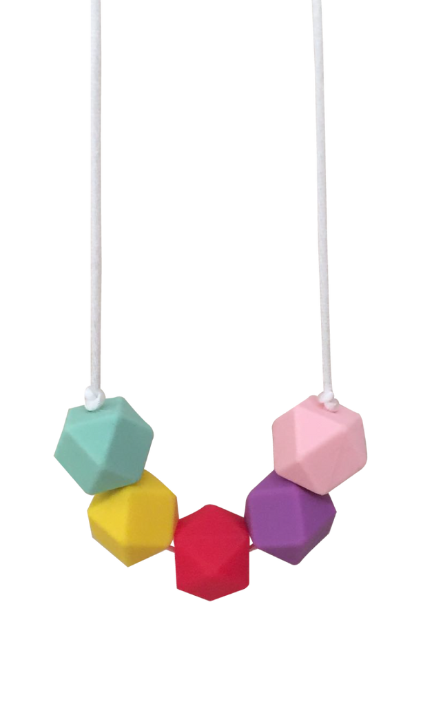 Colourful Necklace - teethers