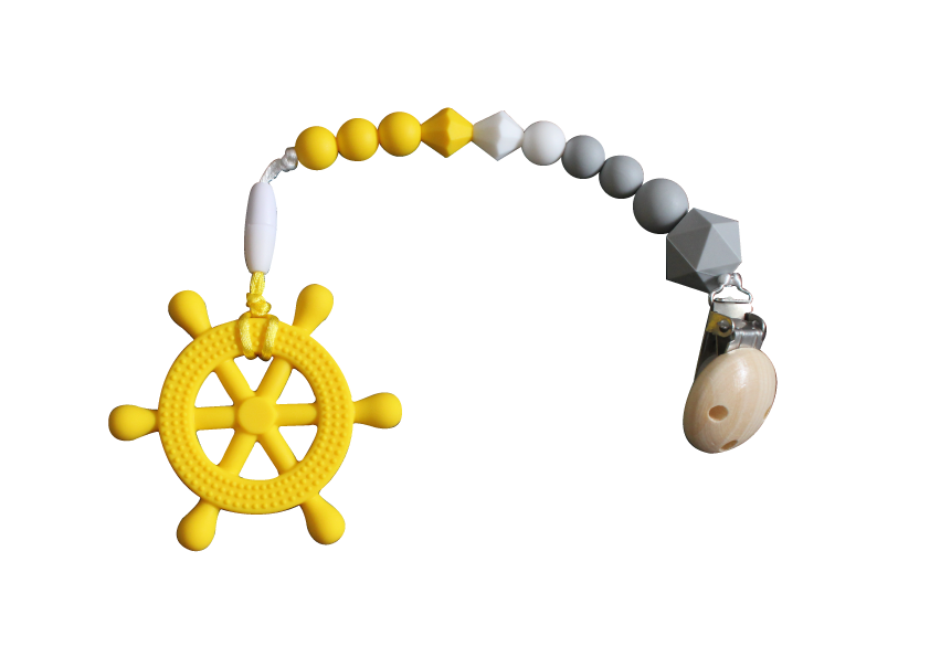 Helm Clipper - Yellow - teethers