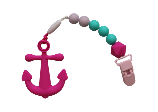 Anchor Clipper - Hot Pink