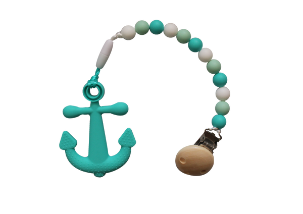 Anchor Clipper - Turquoise