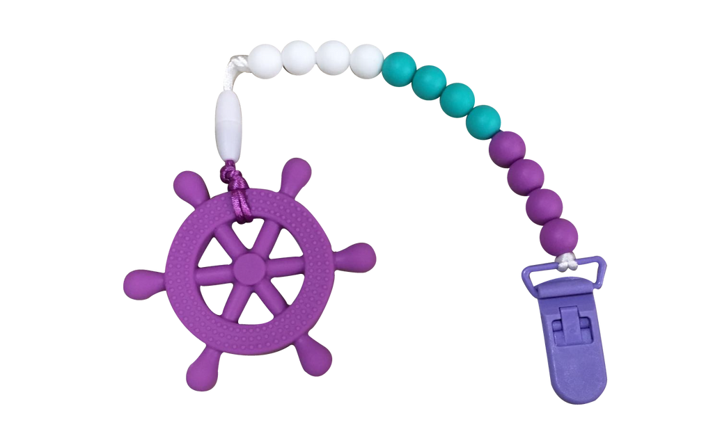 Helm Clipper - Purple - teethers