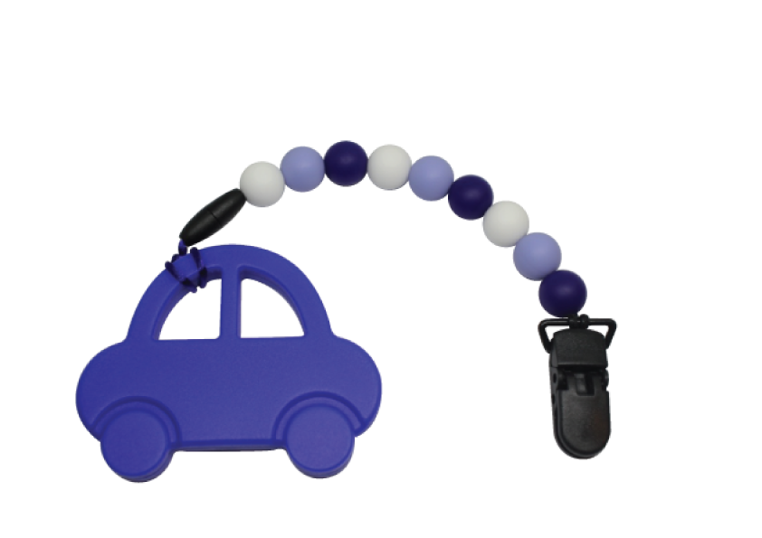 Car-car Clipper - Dark Blue - teethers