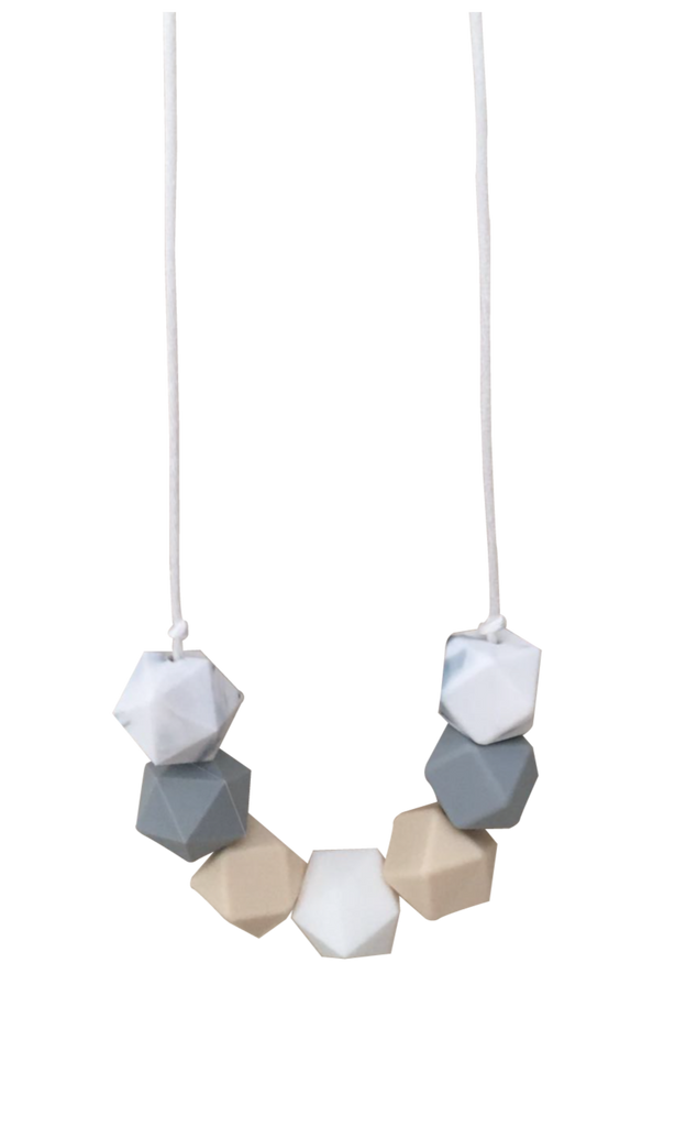 Classic Marble Necklace - teethers
