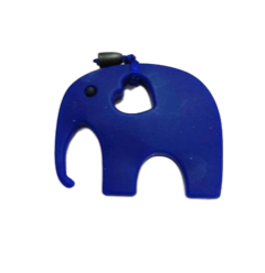 Elephant - Dark Blue - teethers