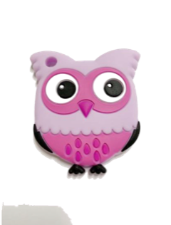 Owl Teether - Purple - teethers