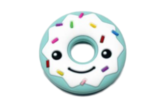 Smiley Donut - Minty - teethers