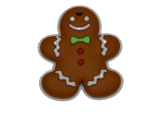 Gingerbread Man - teethers