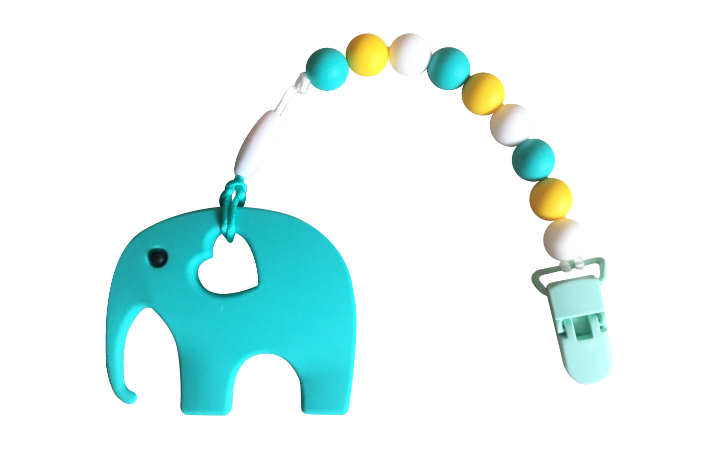 Elephant Clipper - Turquoise