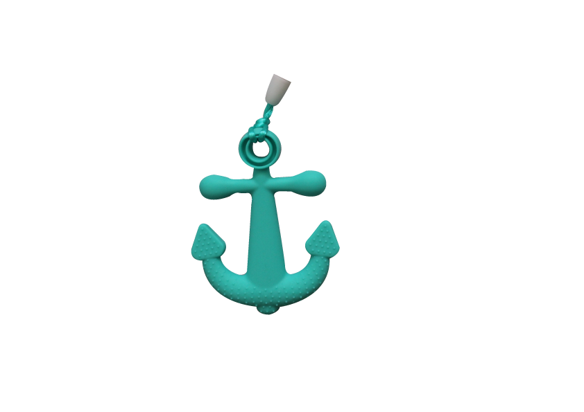 Anchor Clipper - Turquoise - teethers