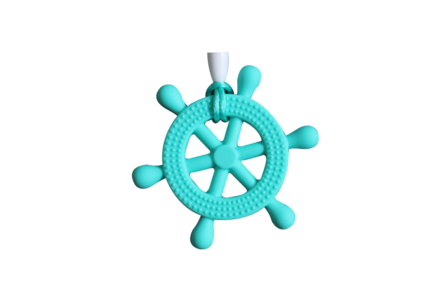 Helm Clipper - Turquoise - teethers