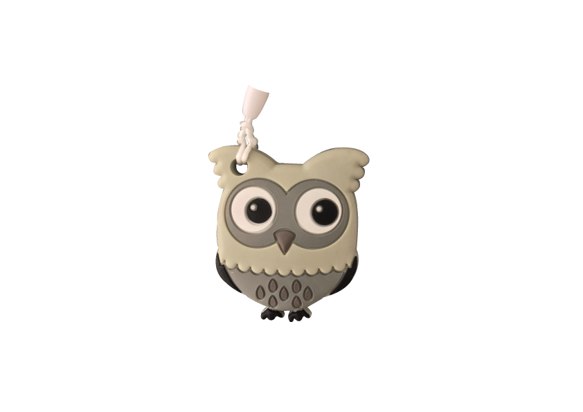 Owl Clipper - Grey - teethers