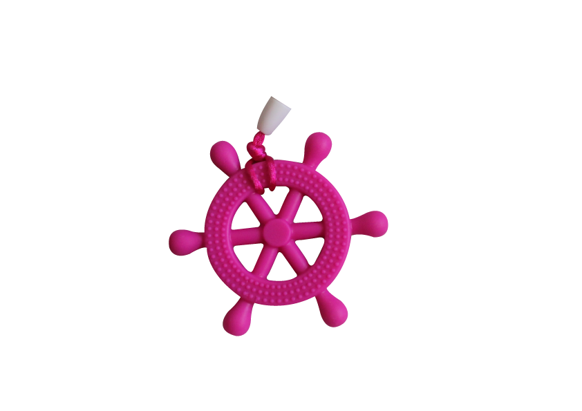 Helm Clipper - Hot Pink - teethers