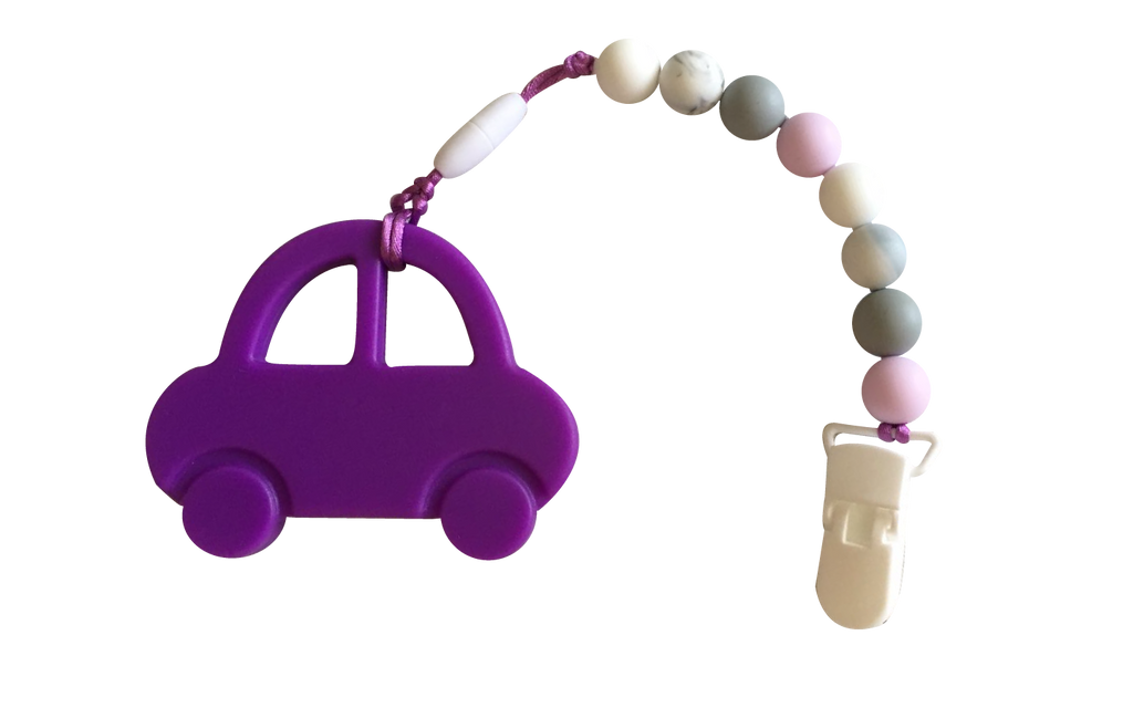 Car-car Clipper - Lavender - teethers
