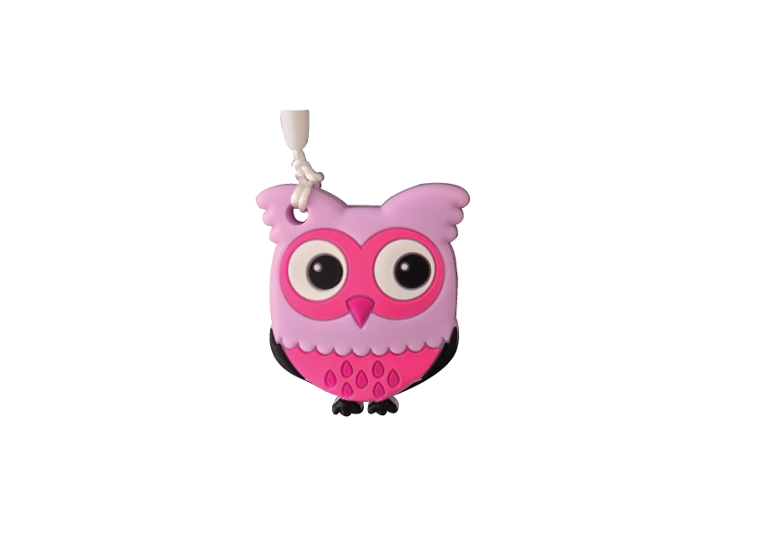 Owl Clipper - Purple - teethers