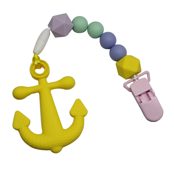Anchor Clipper - Yellow - teethers