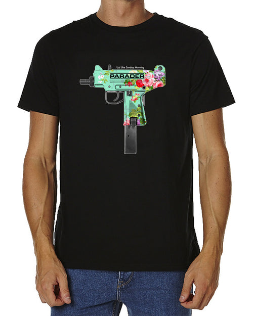 Uzi Like Sunday Morning Tee