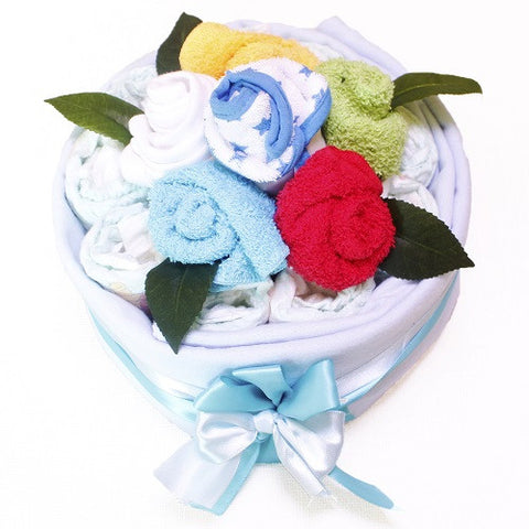 Nappy cakes melbourne gifts australia delivery tickle bub baby boy nappy cake baby gift basket tickle bub negle Gallery