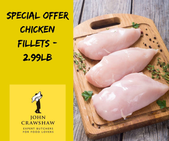 Chicken Fillet In Store Special!