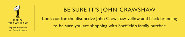 Be sure it's John Crawshaw. Look out for our distinctive yellow and black branding.