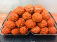 12x Hot n Spicy Pork & Beef Style Meatballs.