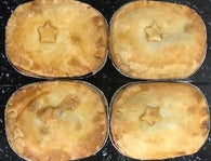 Individual Chicken Pies – Variety of Fillings