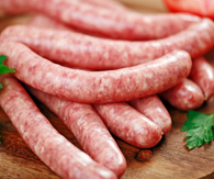 Pride of Yorkshire Award Winning Pork Sausages – Variety of flavours (1kg)