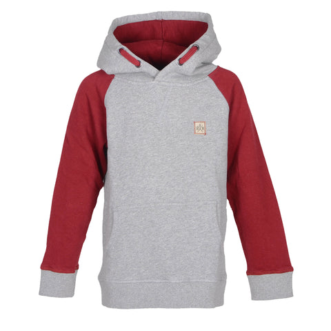 College Zip Hooded Sweat