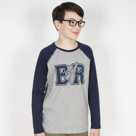 King of Rock Raglan Longsleeve