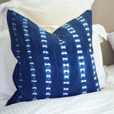 Indigo Mudcloth Pillow