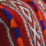 Red Striped Kilim Pillow